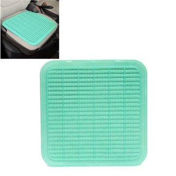 Пластиковые дышащие массаж автомобиль подушки сиденья прохладное лето коврик авто домой крышка стула