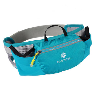 Casual Sports Running Ajustable Waist Bag Nylon Waterproof 5.5inch Phone Bag Storage Crossbody Bags