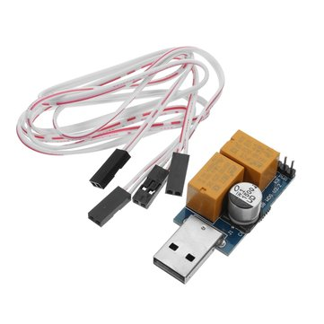 USB 5V Watchdog Card / Computer / Unattended Automatic Restart Blue Screen Crash / Mining / Game / Server / LTC BTC Miner 365X24 Hours Boot Double Relay / Single Relay For Optional