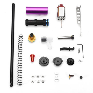 Gearbox Upgrade Metal Replacement Accessories Kit For JINMING Gen9 M4A1 Water Gel Ball Blasting