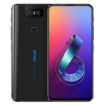 ASUS ZenFone 6 Global Version 6.4 Inch FHD+ Full Screen NFC5000mAh 48MP+13MP Flip Cameras 6GB 128GB