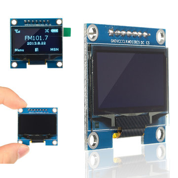 1.3 Inch 128x64 SPI Serial OLED LCD Display Screen Module For Arduino UNO R3