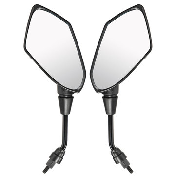 8mm 10mm Motorcycle Rear View Mirrors For Scooter E-Bike