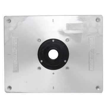 Aluminum router table insert plate 235mm x 300mm x 8mm for aluminum router table insert plate 235mm x 300mm x 8mm for woodworking benches keyboard keysfo Gallery