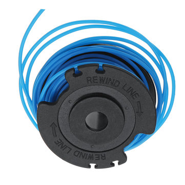 Line String Trimmer Replacement Spool 0.065 Inch For Ryobi One/AC14RSLA 12V 24V 40V Lawnmower Blue