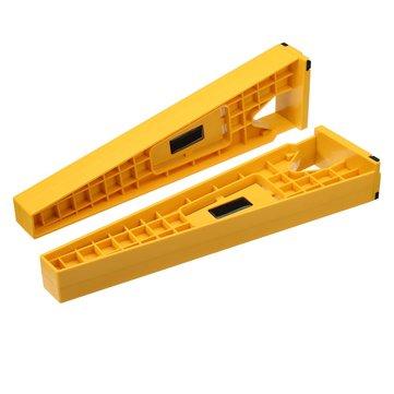 2pcs glissière de tiroir outil de montage accessoires d'installation jaune