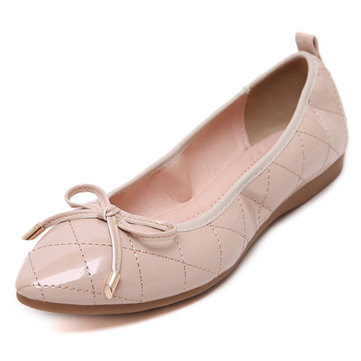 Big Size Women Foldable Ballet Flats Soft Sole Flat Driving Slip-ons