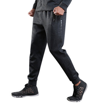Fall Winter Men's Casual Jogger Pants Fitness Running Loose Sport Pants