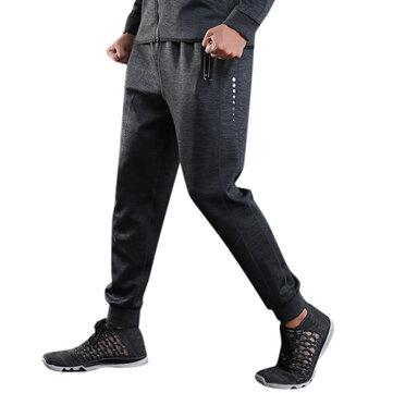 Otoño Invierno Jogging Casual Hombre Pantalones Aptitud Running Loose Sport Pantalones