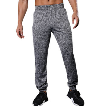 Men's Summer Outdoor Ultra Thin Pants Casual Polyester Jogger Pants