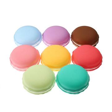 Boîte à bijoux en bonbon Candy Multicolor Vivid Cake Shape Boucles d'oreilles en anneau de rangement Boîte de rangement Boîte cadeau