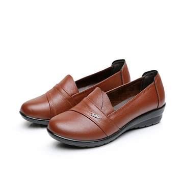 Soft Solt Slip On Flats Loafers For Women
