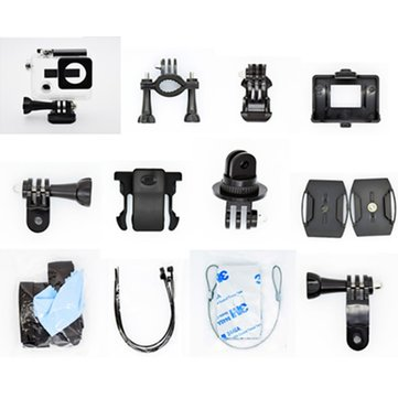 Hawkeye Firefly 6S 4K Camera Spare Part Sport Accessories with 30M Diving Waterproof Case
