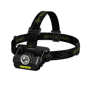 Nitecore HA20 XP-G2 + Two F5 Red Light 300LM Unibody Die-cast LED Headlamp AA