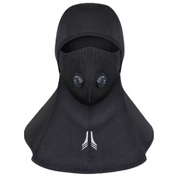 Mens Womens Winter Windproof Fleeces Riding Mask Outdoor Ski Neck Protector Face Mask Cap