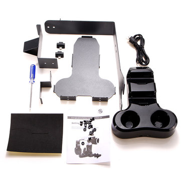 New Stand With Charger Kit for Play Station 4 VR Headset and Move Accessories