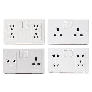 Wall Plug Socket Secret Money Hidden Secret Storage Security Safe Socket Locker Money Safety Box
