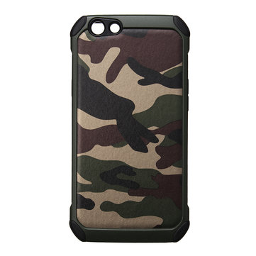 Shockproof PC+TPU Camouflage Phone Case for OPPO F1S