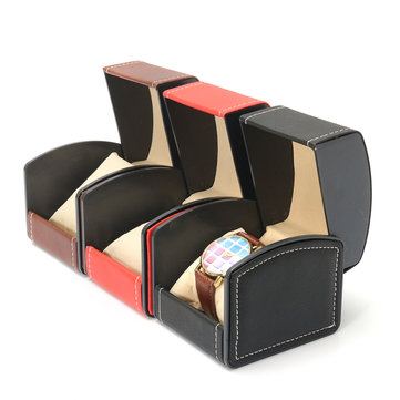 Watch Display Box Jewelry Leather Organizer Case Holder Storage Box