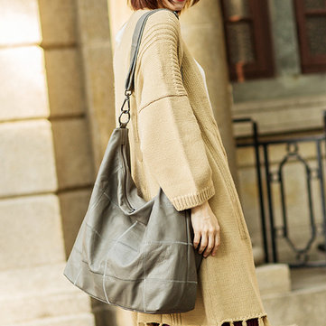 Women Vintage Genuine Leather Shoulder Bag Crossbody Bag