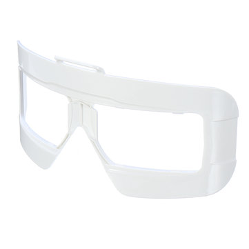 Skyzone SKY03 Goggles Plastic Faceplate Black/White/Red