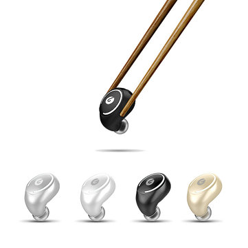 LOSENCE I3 Mini Noise Reduction HD Unilateral Bluetooth Earphone for iPhone Samsung Xiaomi