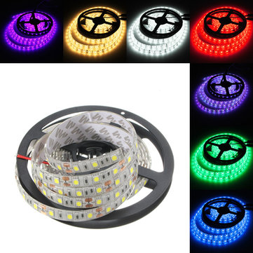 4M DC12V 57.6W 240 SMD 5050 Waterproof Red/Blue/Green/White/Warm White/RGB Flexible LED Strip Light