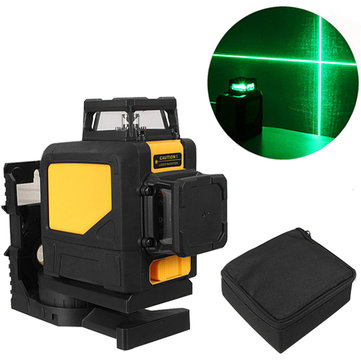 Mini 360° Green 8 Line Laser Level Self Leveling Vertical&Horizontal Level Measurement