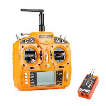 FsFly T-six 2.4GHz 6ch DSM2 совместимый передатчик с Redcon CM703 DSM2 приемник