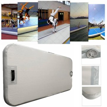 78.74x35.43x3.94inch Inflatable GYM Air Track Mat Airtrack Gymnastics Mat Floor Home Tumbling Mat