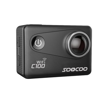 SOOCOO C100 Action Camera 4K Wifi Built-in Gyro with GPS Extension Waterproof