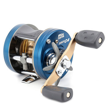 Original ABU GARCIA C4 5600 5601 4+1BB 6.3:1 Fishing Reel Left Right Hand Baitcasting Fishing Wheel