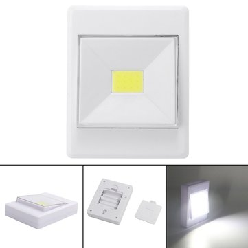 Battery Powered Wireless COB LED Closet Night Light Lamp Switch With Magnetic