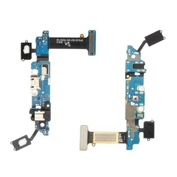 USB Charging Charger Port Dock Flex Cable With Mic for Samsung Galaxy S6 G920A AT&T