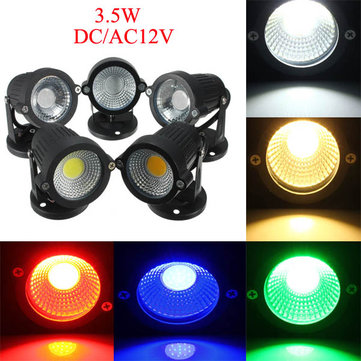 12V 3.5W Garden Lawn Waterproof Flood Lamp Outdooors Super Bright Spot Lightt