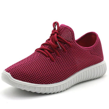 Women Outdoor Walking Comfy Mesh Sneakers