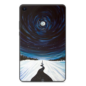 TPU Back Case Cover Tablet Case for XIAOMI Mipad 4 Plus - Star Sky Version