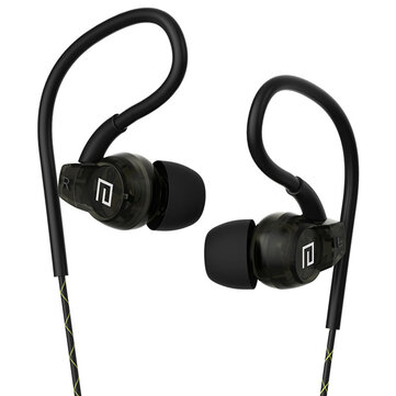 Langsdom SP80A In-ear Sport Sweatproof High Definition Wired Control Earphone With Mic