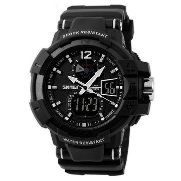 SKMEI 1040 Luminous Analog Digital Waterproof Sport Watch