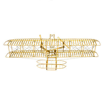 Wright FlyerⅠ1903 Balsa Wood 510mm Wingspan Airplane Model Kit