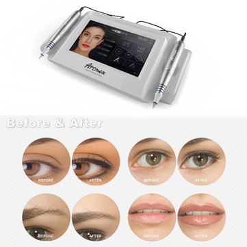 Artmex V8 Permanent Makeup Tattoo Machine Eye Brow Lip Rotary Pen MTS PMU System