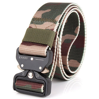 Mens Nylon Outdoor Durable Military Combat Belt