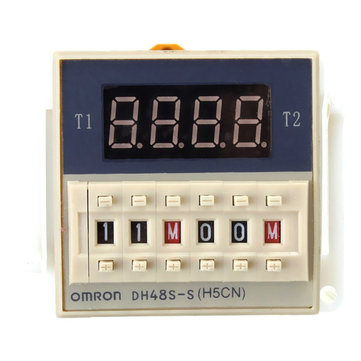DH48S-S 220V Delay Device Loop Digital Display Time Delay Relay