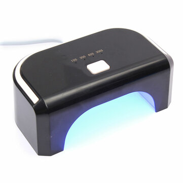 12W 90-240V LED Lamp Nail Art Polish Dryer Curing 4 Timer Setting