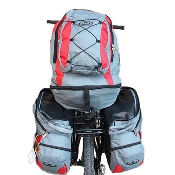 Detachable Three In One 68L Lager Capacity Bicycle Backpack