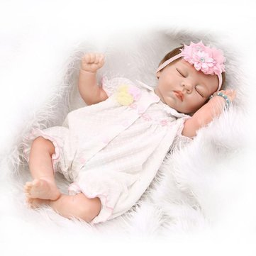 NPK ขนาด 20 นิ้วซิลิโคนเด็กอ่อน Reborn ขนาด ตุ๊กตา Handmade Life Girl Baby ตุ๊กตาs ของเล่นของเล่นวันเกิดของขวัญ