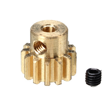 REMO G2713 390 Motor Gear Copper 13T 1/16 RC Car Parts For Truggy Buggy Short Course 1631 1651 1621