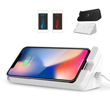 5W Qi Wireless Charger Stand Holder For iPhone X 8 Plus Galaxy S9 S8 Note 8