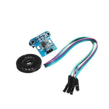 H206 Photoelectric Counter Counting Sensor Module Motor Speed Board Robot Speed Code 6MM Slot Width