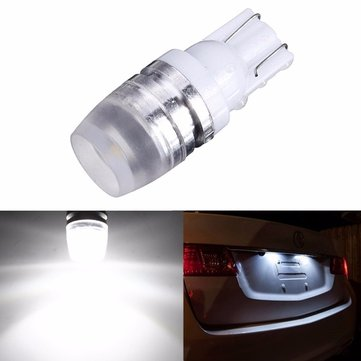 T10 LED Car Wedge Side Marker Lights Bulbs High Power 1W 50LM 40mA DC12V White